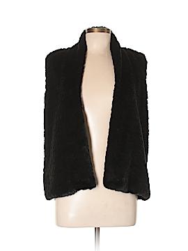 Ann Taylor LOFT Faux Fur Vest Size L