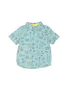 Genuine Kids from Oshkosh Short Sleeve Button-Down Shirt Size 18 mo