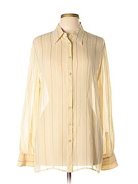 Giorgio Armani Long Sleeve Blouse Size 12