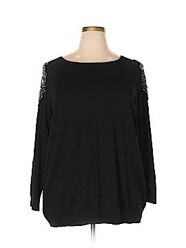Susan Graver Pullover Sweater Size 3X (Plus)