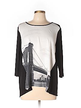 Elie Tahari 3/4 Sleeve Top Size XL