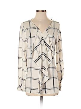 Kensie Long Sleeve Blouse Size S
