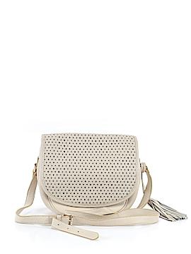 Isaac Mizrahi Leather Crossbody Bag One Size