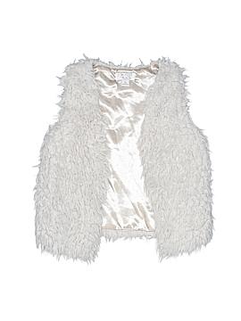 The Children's Place Faux Fur Vest Size S (Kids)