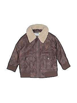 OshKosh B'gosh Faux Leather Jacket Size 18 mo