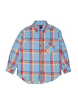 Gap Kids Long Sleeve Button-Down Shirt Size Small kids (6-7)