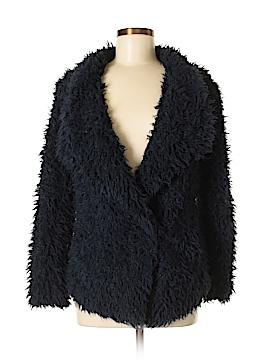 Zara Basic Faux Fur Jacket Size S