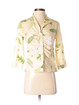 Leggiadro 3/4 Sleeve Button-Down Shirt Size 4