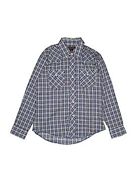 Rustler Long Sleeve Button-Down Shirt Size L (Kids)