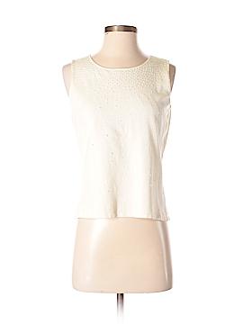 Kate Hill Sleeveless Silk Top Size S (Petite)
