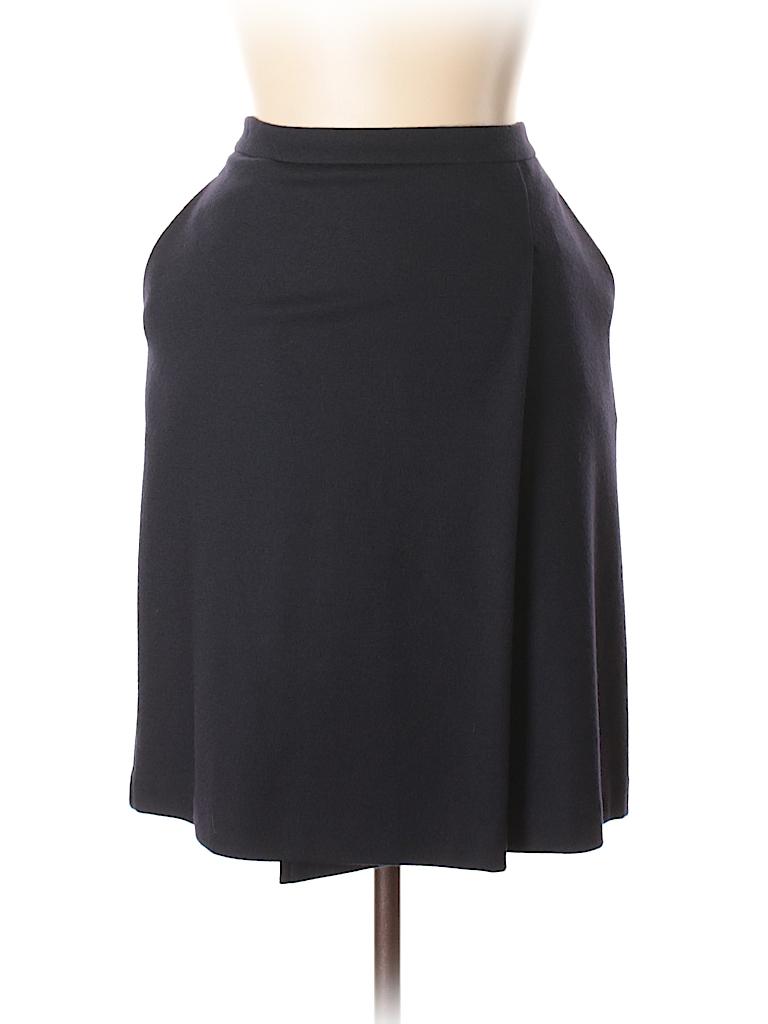 Max Mara Women Wool Skirt Size 48 (IT)