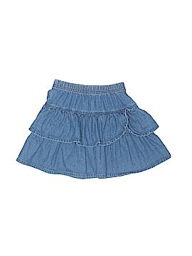 Hanna Andersson Denim Skirt Size 110 (CM)