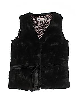 H&M Faux Fur Vest Size 14