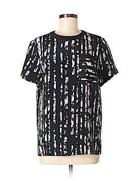 Alexander Wang Short Sleeve Silk Top Size 2