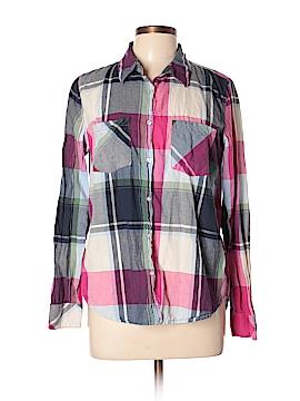 H&M L.O.G.G. Long Sleeve Button-Down Shirt Size 12