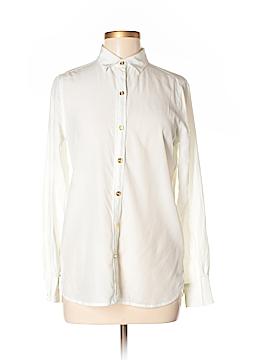 C. Wonder Long Sleeve Silk Top Size sm