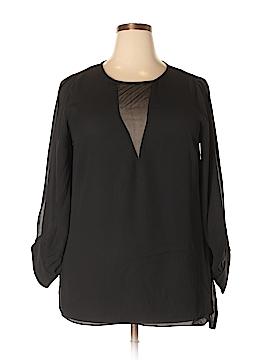 City Chic Long Sleeve Blouse Size 16 Plus (S) (Plus)