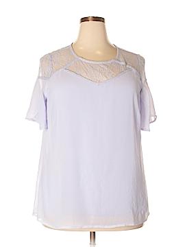 U-Knit Short Sleeve Top Size 1X (Plus)