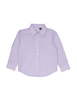 Class Club Long Sleeve Button-Down Shirt Size 3T