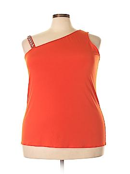 INC International Concepts Sleeveless Top Size 2X (Plus)