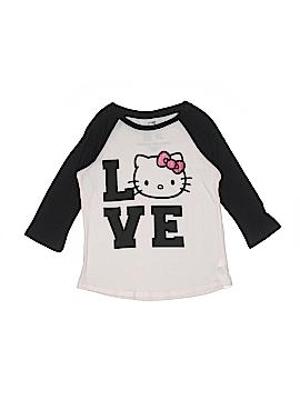 Hello Kitty 3/4 Sleeve T-Shirt Size 13 - 14