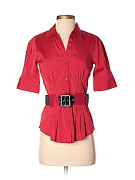 Antilia Femme Short Sleeve Button-Down Shirt Size S