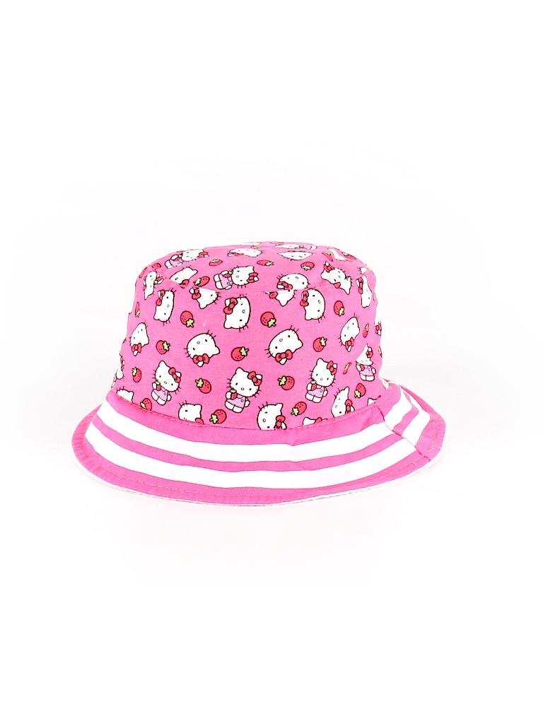 4c07cb5de5105 Hello Kitty Print Pink Bucket Hat One Size (Kids) - 30% off
