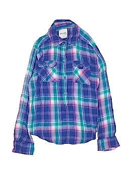 Mudd Long Sleeve Button-Down Shirt Size 7 - 8