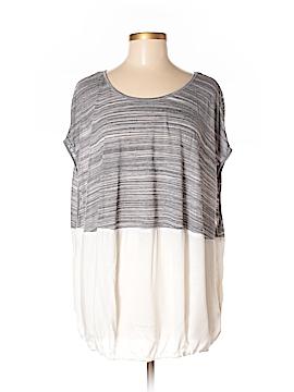 Hem & Thread Short Sleeve Top Size Sm - Med