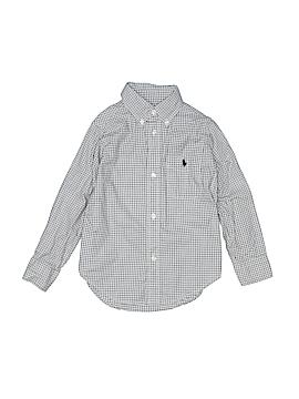 Ralph Lauren Baby Long Sleeve Button-Down Shirt Size 3T
