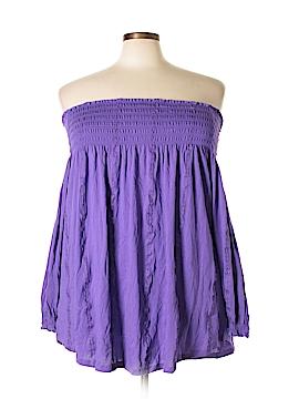 Lauren by Ralph Lauren 3/4 Sleeve Top Size 2X (Plus)