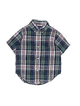 Ralph Lauren Short Sleeve Button-Down Shirt Size 2T