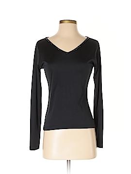 Finity Studio Long Sleeve Silk Top Size XS
