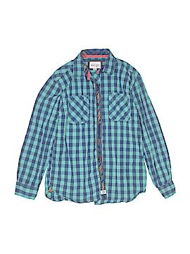 Paper Denim & Cloth Long Sleeve Button-Down Shirt Size 14 - 16