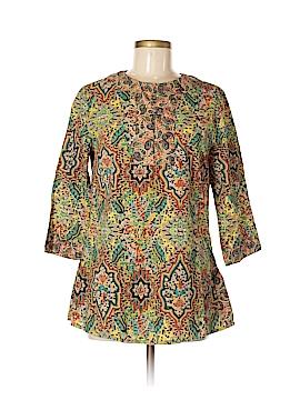 Grace Elements 3/4 Sleeve Blouse Size M