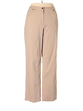 Ruby Rd. Khakis Size 16
