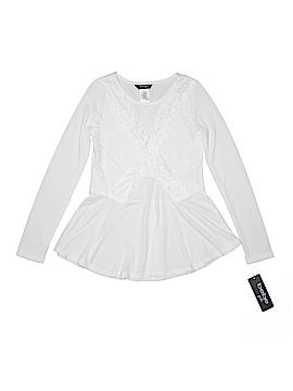 Bebe Long Sleeve Blouse Size 10