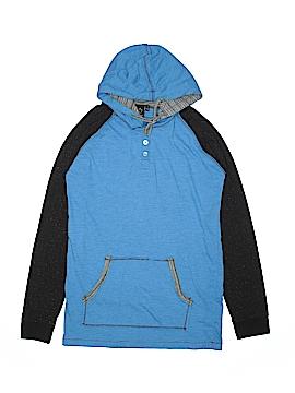 Burnside Long Sleeve Henley Size S (Youth)