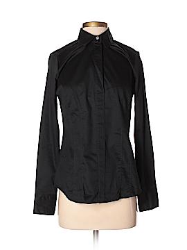 Dana Buchman Long Sleeve Button-Down Shirt Size S
