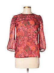 Ann Taylor LOFT Women 3/4 Sleeve Blouse Size XXS (Petite)