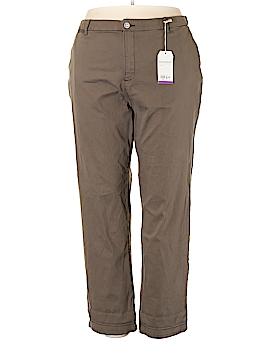 Style&Co Khakis Size 24W (Plus)
