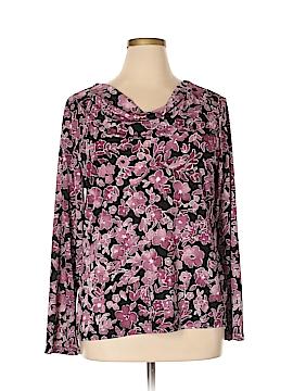 Jaclyn Smith Long Sleeve Top Size XL