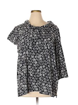 Dana Buchman 3/4 Sleeve T-Shirt Size 2X (Plus)
