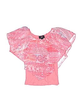 Iz Byer Short Sleeve Blouse Size S (Kids)