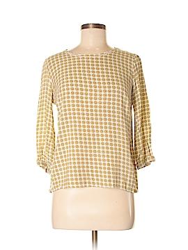 DownEast Basics 3/4 Sleeve Blouse Size M
