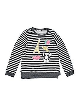 Monteau Girl Sweatshirt Size L (Kids)