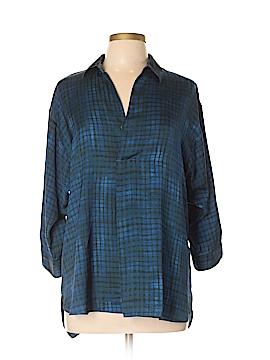 Simply Vera Vera Wang 3/4 Sleeve Blouse Size L