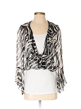 Alberto Makali Silk Cardigan Size M