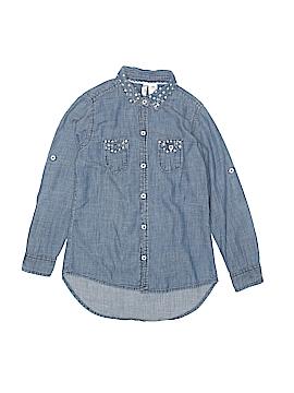 Japna Kids Long Sleeve Button-Down Shirt Size 6X