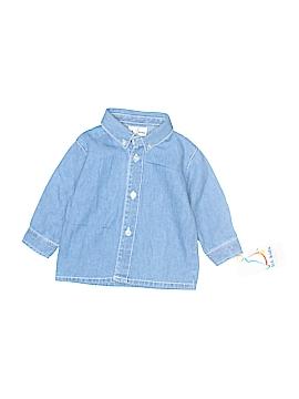 B.T. Kids Long Sleeve Button-Down Shirt Size 6-9 mo